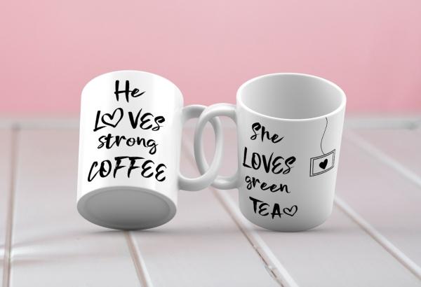 Cani cuplu - tea and coffee [0]