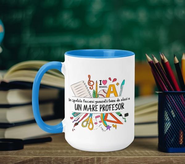 Cana Personalizata - Un Mare Profesor 0