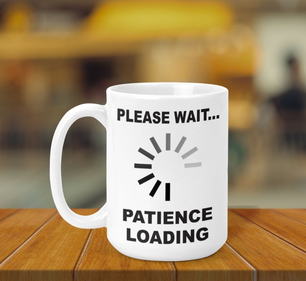 Cana Personalizata - Patience Loading 0