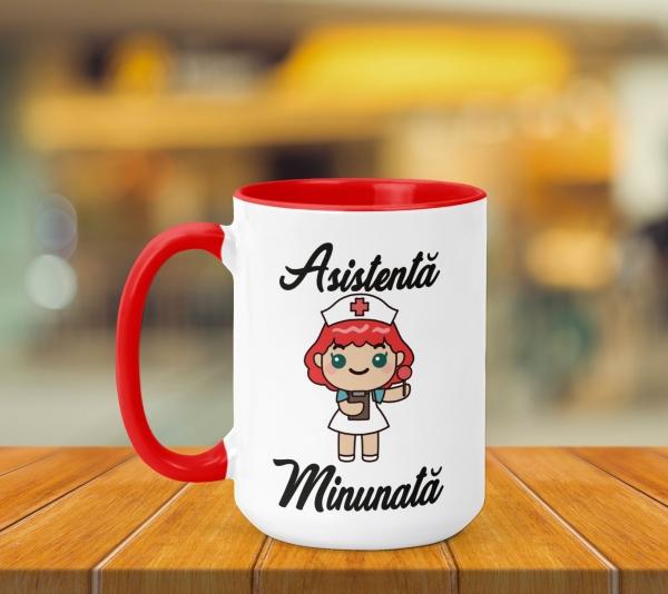 Cana Personalizata - Asistenta Minunata 0