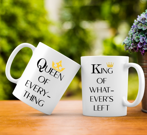 Cana personalizata - Queen and King 2 [0]
