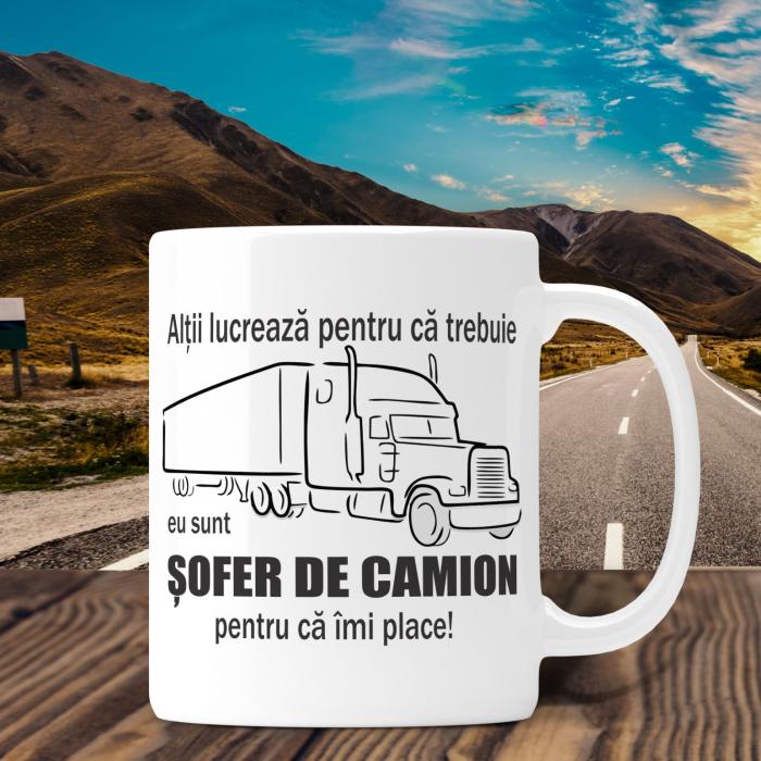 Cana Personalizata - Sofer De Camion [0]
