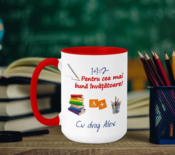 Cana Personalizata - Cea Mai Buna Invatatoare 0