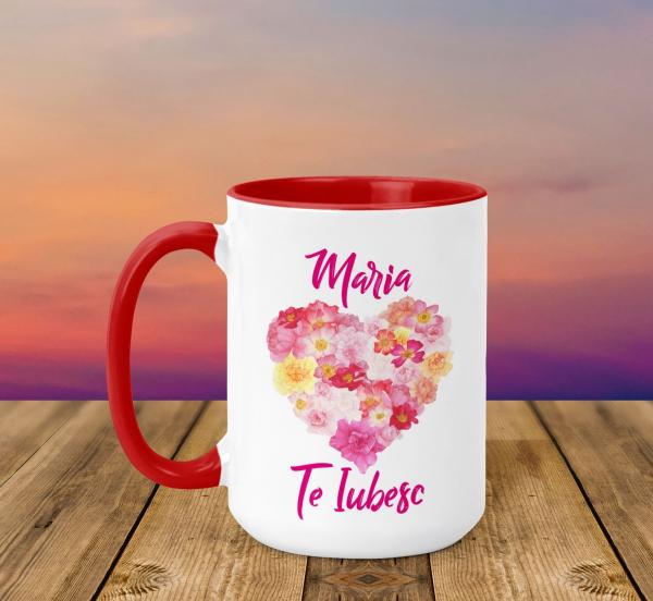 Cana Personalizata - Te Iubesc + Nume [0]