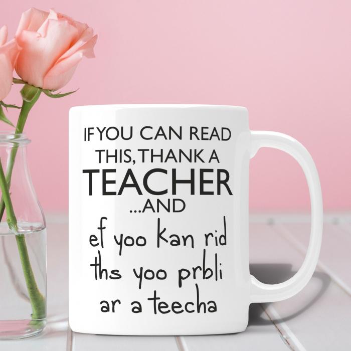 Cana Personalizata - Thank A Teacher [0]