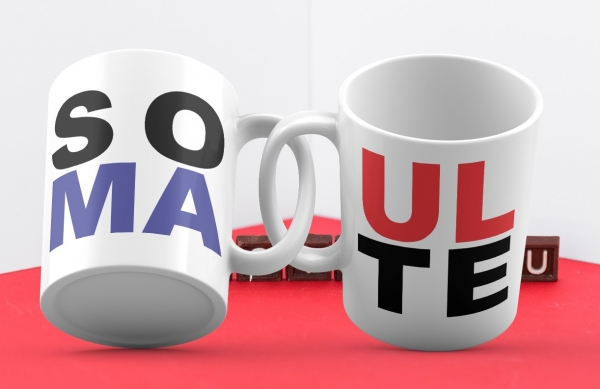 Cani Personalizate Cuplu - Soul Mate [0]