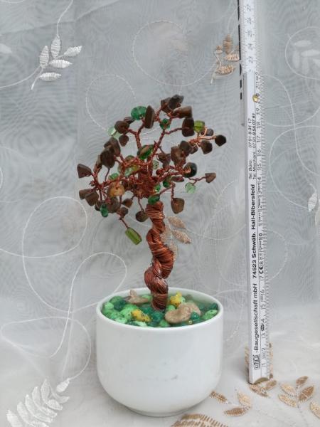 Copacel decorativ Feng Shui M23 - Pietre Semipretioase - Ochi de Pisica [1]