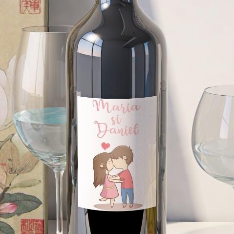 Eticheta Vin Personalizata - Romantic 12 0