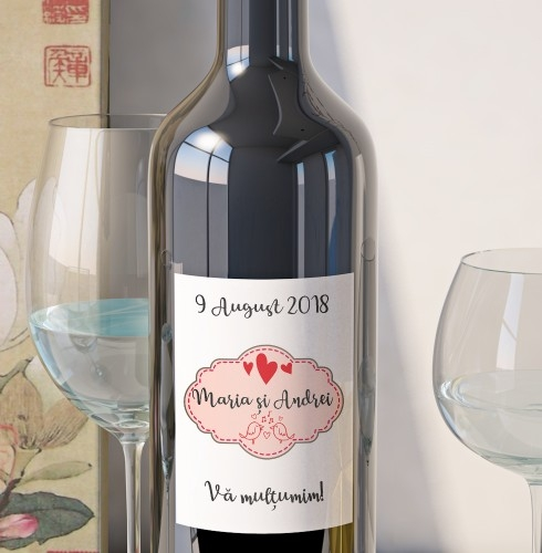Eticheta Vin Personalizata - Romantic 2 0