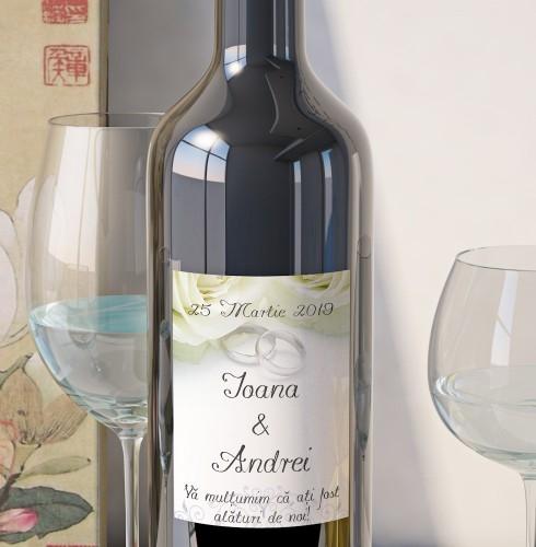 Eticheta Vin Personalizata - Romantic 4 0