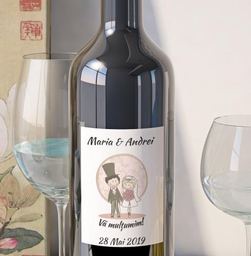 Eticheta Vin Personalizata - Romantic 5 0