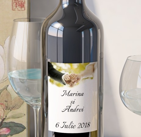 Eticheta Vin Personalizata - Romantic 7 0