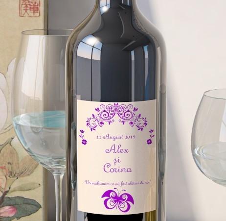 Eticheta Vin Personalizata - Romantic 9 0