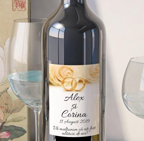 Eticheta Vin Personalizata - Romantic 10 [0]