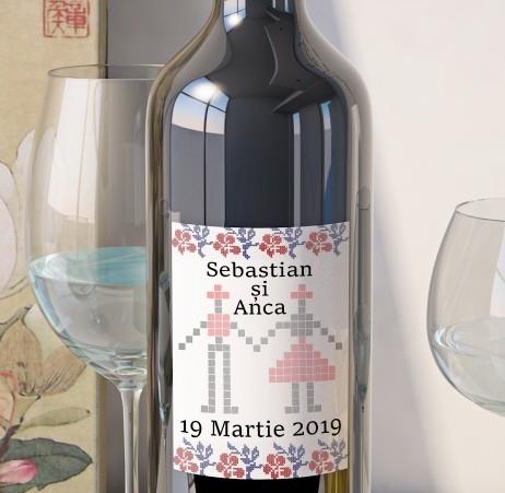 Eticheta Vin Personalizata - Traditional 3 0