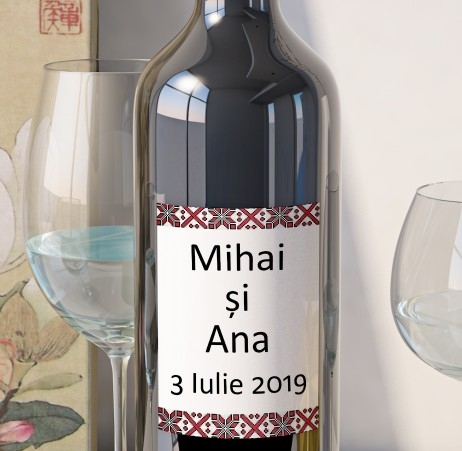 Eticheta Vin Personalizata - Traditional 4 0