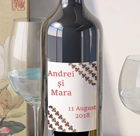 Eticheta Vin Personalizata - Traditional 5 [0]