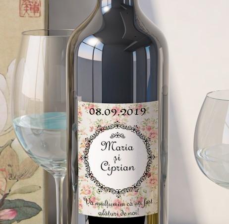 Eticheta Vin Personalizata - Vintage 11 [0]