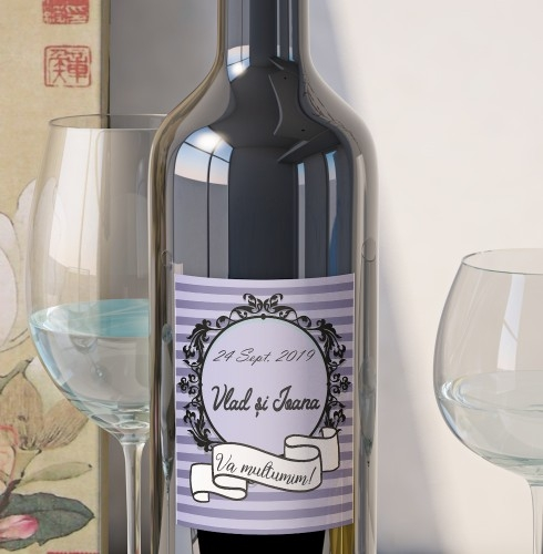 Eticheta Vin Personalizata - Vintage 4 0