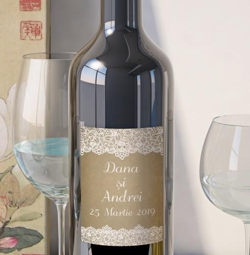 Eticheta Vin Personalizata - Vintage 5 0