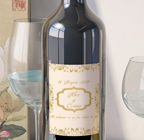 Eticheta Vin Personalizata - Vintage 10 [0]
