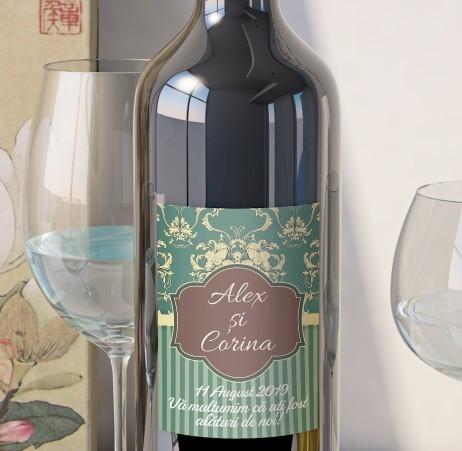 Eticheta Vin Personalizata - Vintage 12 0