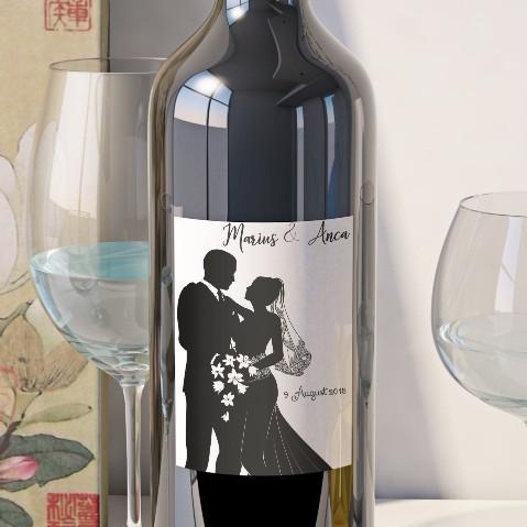 Eticheta Vin Personalizata - Romantic 13 0