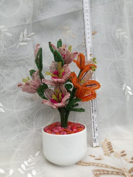 Flori decorative din margele M14 0