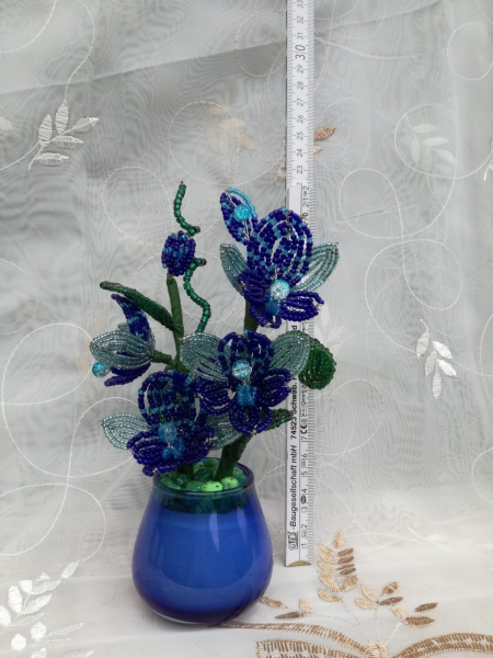 Flori decorative din margele M7 0