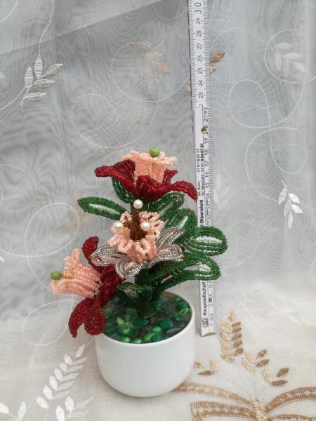Flori decorative din margele M10 [0]