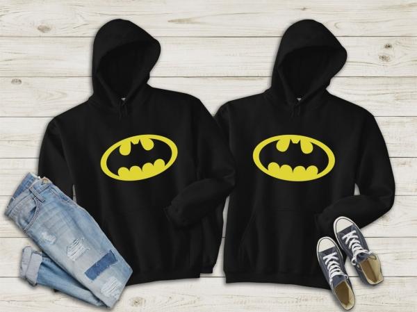 Hanorace cuplu personalizate - Batman 0