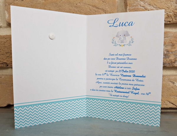 Invitatie Botez cod 8027 2