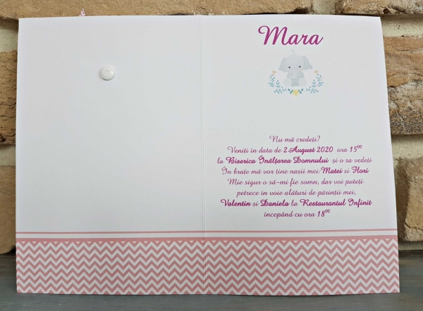 Invitatie Botez cod 8028 1