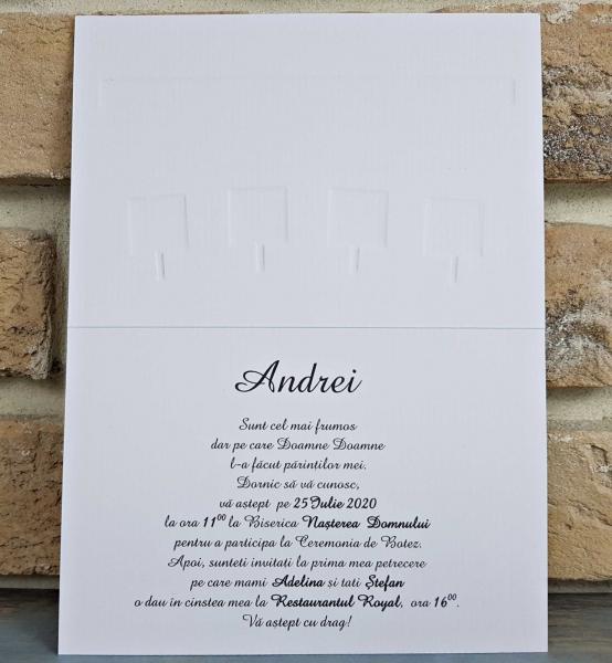 Invitatie Botez cod 8039 4