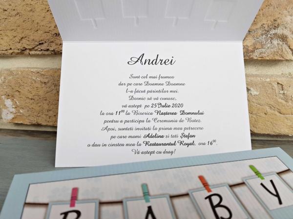Invitatie Botez cod 8039 2