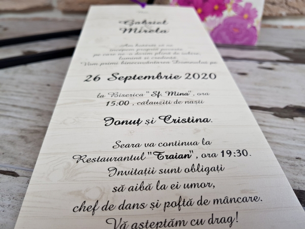 Invitatie cod 2782 3