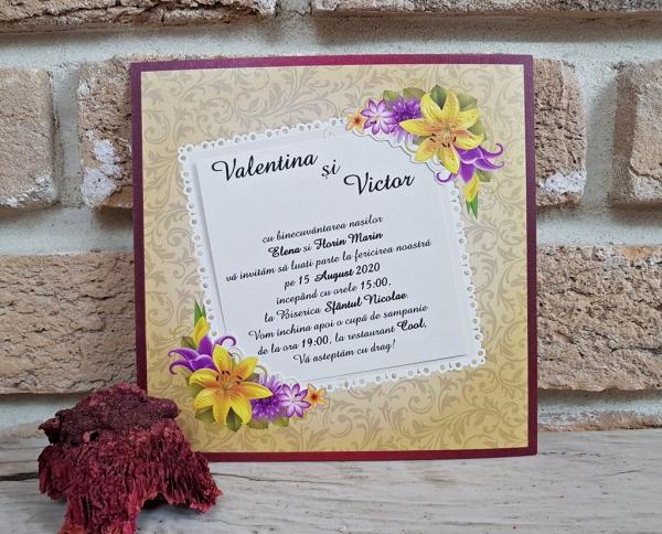 Invitatie cod 2774 1