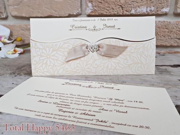 Invitatie nunta cod 5463 0