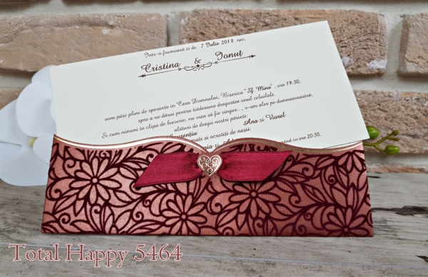 Invitatie nunta cod 5464 1