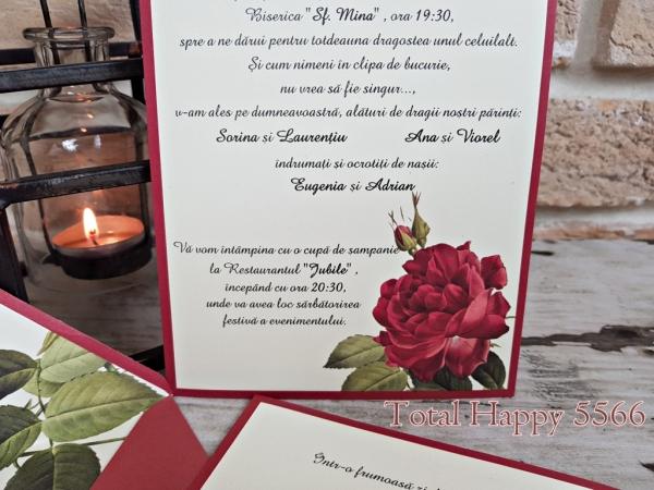 Invitatie nunta cod 5566 1