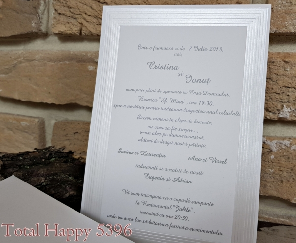 Invitatie nunta cod 5396 1