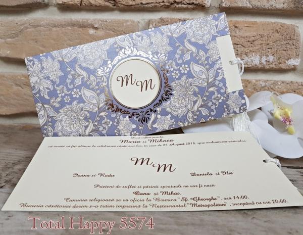 Invitatie nunta cod 5574 0