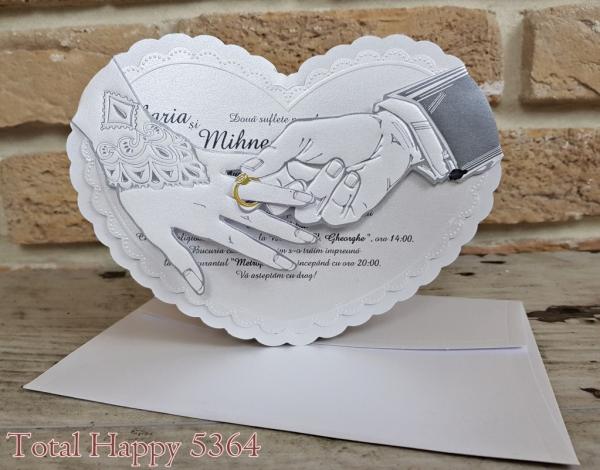Invitatie nunta cod 5364 0