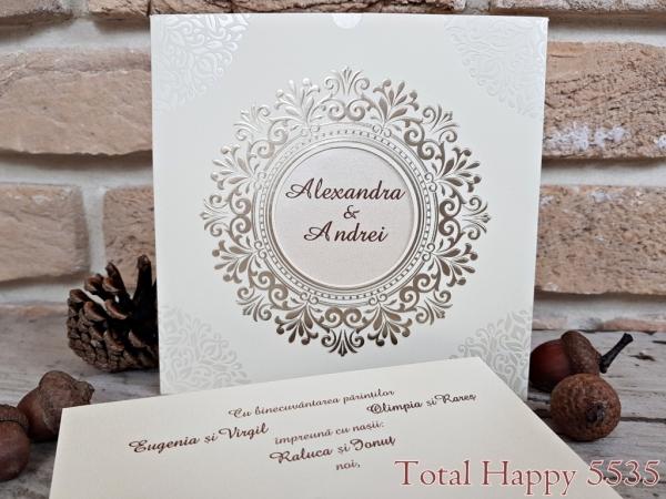 Invitatie nunta cod 5535 1