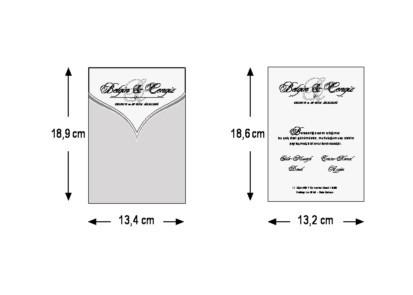 Invitatie nunta cod 5471 2