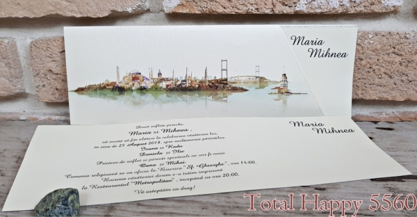 Invitatie nunta cod 5560 0