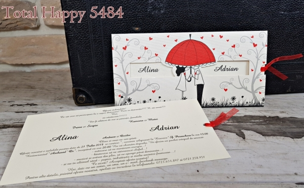 Invitatie nunta cod 5484 0