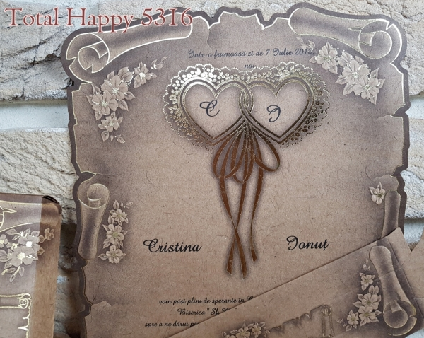Invitatie nunta cod 5316 1