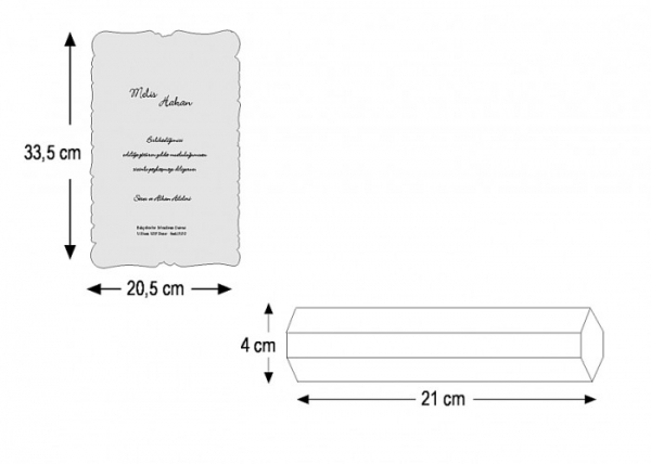 Invitatie nunta cod 5316 2