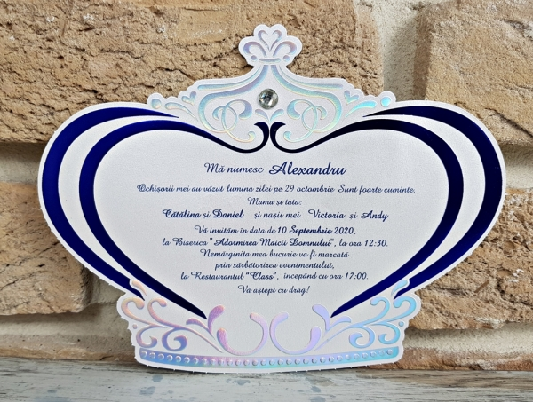 Invitatie Botez cod 6193 1